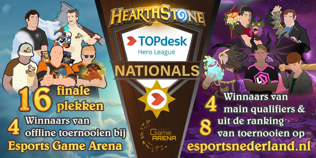 Hearthstone Nationals Qualifier