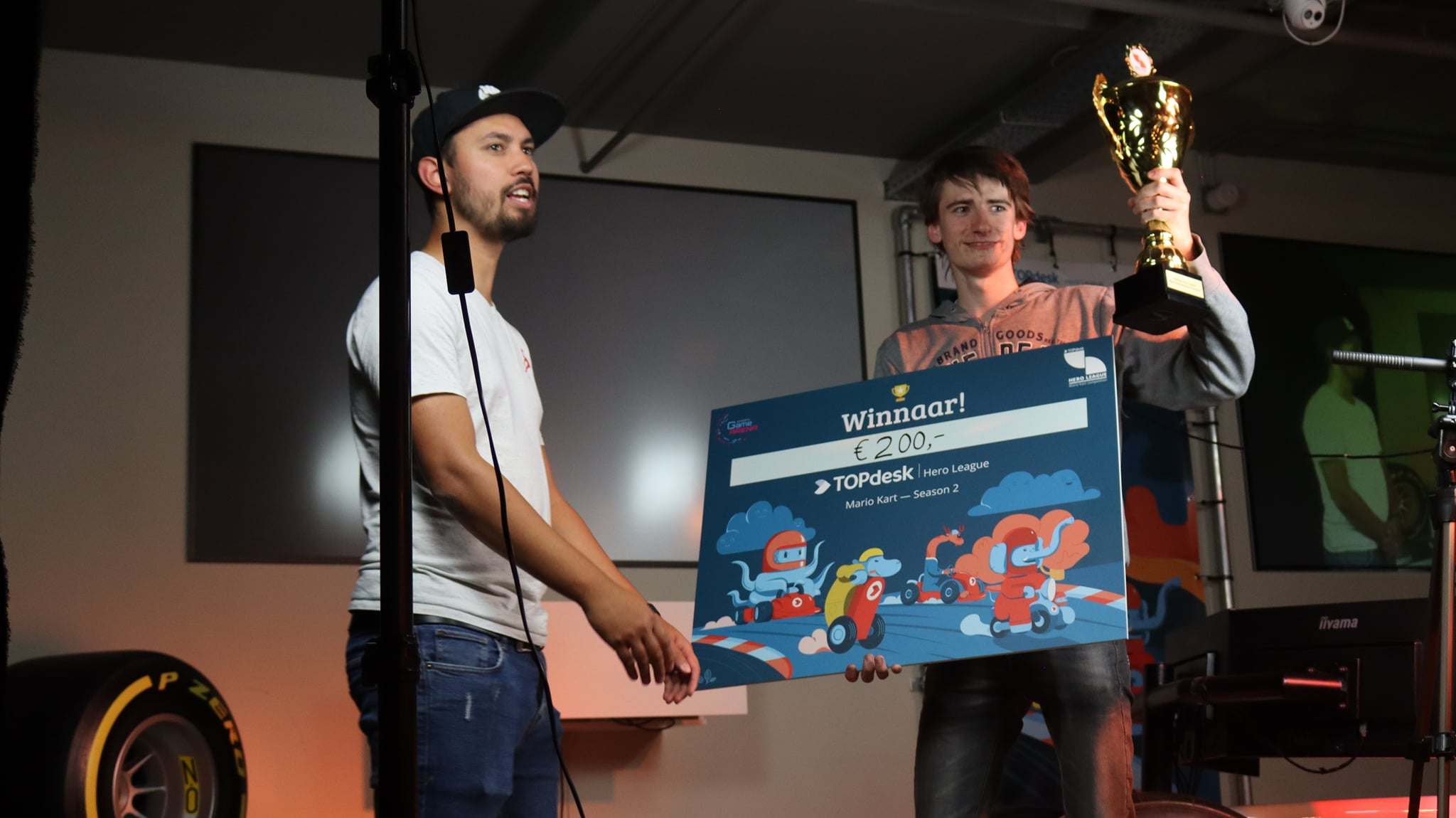 Winnaar TOPdesk Hero League Mario Kart